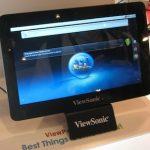 Computex: Viewsonic muestra tablet con nuevo procesador de Intel