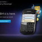 """BlackBerry Messenger 6 """"la experiencia social"""" en su smartphone"""