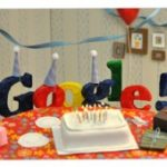 Google celebra su cumpleaños 13 con un 'doodle' fiestero