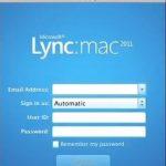 Microsoft Lync disponible en Office para Mac 2011