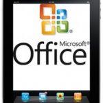 Microsoft pretende llevar Office al iPad durante el 2012