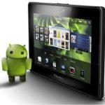 RIM podría terminar acuerdo para usar apps de Android en la PlayBook