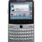 Alcatel lanza un nuevo 'smartphone' muy parecido al estilo BlackBerry