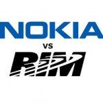 Nokia quiere parar la venta de algunos productos de RIM en EE.UU.