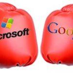 Microsoft enfurecido contra la política antimonopolio de Google