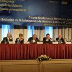 Hoy se inauguró con la presencia del Presidente de Uruguay la Cuarta Conferencia Ministerial sobre la Sociedad de la Información de América Latina y el Caribe