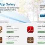 Citrix Worx App Gallery: El ecosistema de apps móviles de más rápido crecimiento
