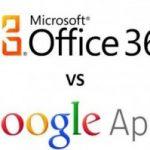 Microsoft Office 365 vs Google Apps (Parte 1)