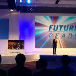 UHD curva: Televisión inteligente con estrategia mundialista