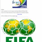 Identifican Nuevas Estafas Relacionadas con la Copa del Mundo FIFA 2014 en Brasil