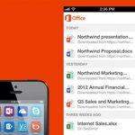 Office Mobile desde ahora gratis para iPhone y Android