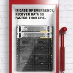 En caso de emergencia, recupere los datos 5 veces más rápido
