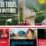Coca-Cola Se Lanza Con Todo a Celebrar La Copa Mundial De La FIFA 2014