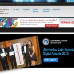 Lunes 30 de junio: Culminan postulaciones a los Latin American Digital Awards 2014