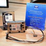 WD muestra el primer prototipo de disco duro para PCI Express