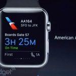 American Airlines lanza aplicación que sera compatible con el Apple Watch