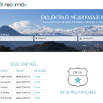 Recorrido.cl: La plataforma para elegir pasajes mas baratos de Chile
