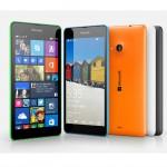 Los tres nuevos Lumia de Microsoft