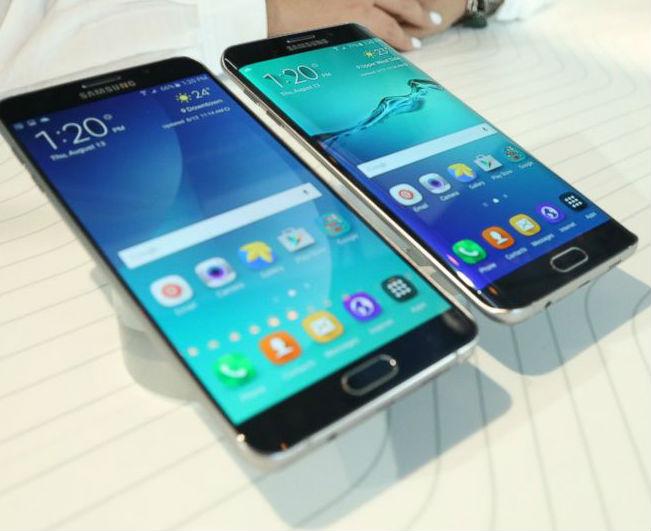 Galaxy S6 edge+ y el Galaxy Note5