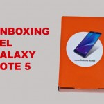 Unboxing de la Samsung Galaxy Note 5