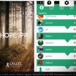 Aplicación argentina conecta a pacientes con cáncer