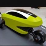 Auto eléctrico de dos plazas se estrena en Chile