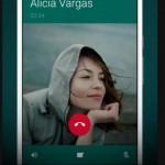 WhatsApp prueba funcion de videollamadas