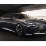 Lexus presenta el sedán del futuro: el LF-FC