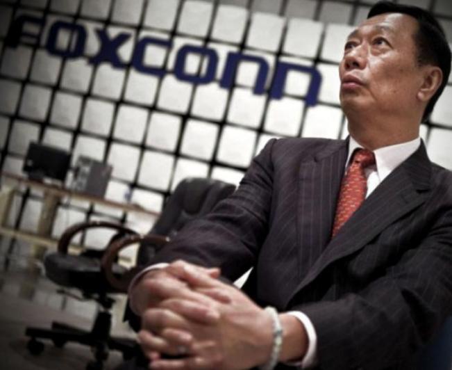Foxconn y su CEO Terry Gou se anotan un triunfo