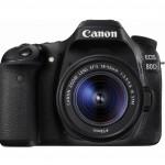 Canon DSLR EOS 80D en abril en Latinoamérica