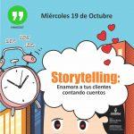 Storytelling toma las redes sociales y el marketing digital #Hangout