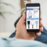 Compras desde móviles alcanzan 47% de las transacciones en línea