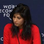 WEF en directo: FMI presenta perspectivas de la economía mundial