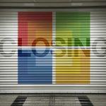 Microsoft cierra cadena de tiendas y recupera 450 millones de US$