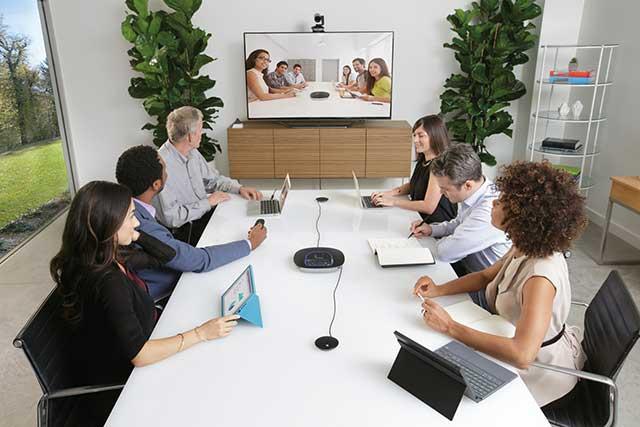 videoconferencia grupal
