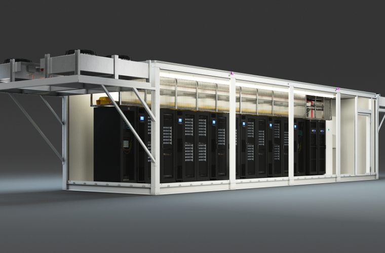 Centro de datos prefabricados